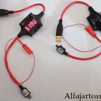 harga Usb Gpg Tester Multimeter Boot Mode Digital + Power Ukur Volt & Amper Tokopedia.com