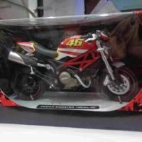 miniatur diecast motor ducati monster 796 no 46 1:12 newray