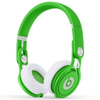 BEATS BY DR DRE BEATS MIXR ONEAR HEADPHONES NEON GREEN