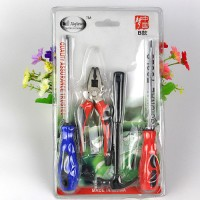 Professional Tools Kit 4 In 1 Set Alat Pertukangan Obeng, Palu, Tang