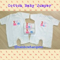 Jumper Bayi - I love Mom n Dad (Baju Anak)