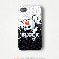 Ken Block DC Shoes 43 Skull Logo Blackberry Z10 Custom Hard Case