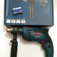 Impact Drill / Bor Beton / Tembok BITEC IDM 13 RE Variable Speed Putar