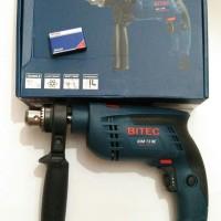 Impact Drill / Bor Beton / Tembok BITEC IDM 13 RE Variable Speed Putar
