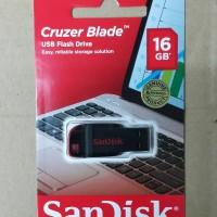 Jual USB FLASHDISK 16 GB SANDISK CRUZER BLADE Murah