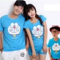 Baju Couple Keluarga / Family Set FM Blue Doraemon