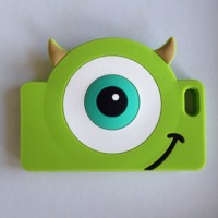 IPHONE 5 5S 6 MIKE WAZOWSKI FACE SILICONE RUBBER CASE CASING COVER IJO