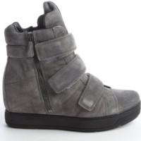 Sneaker Wedges Prada Grey