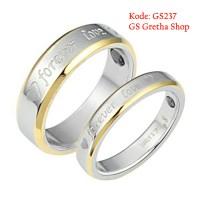 Cincin Couple Titanium - Cincin Nikah, Tunangan dan Fashion