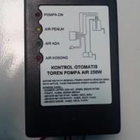 Kontrol otomatis tandon/toren pompa air 250W plus indicator