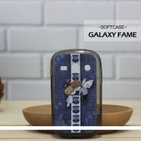 Casing HP Custom Softcase Samsung Galaxy Fame Little Angel