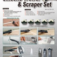 Pembersih / Sekop Lem Silicon ( Silicone Trowel & Scraper )