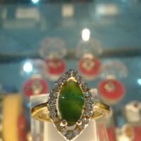 cincin batu giok nephrite