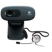 LOGITECH Webcam HD C 270 + Stereo Headset