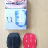 flat mounting (mounting helm dll) action camera sjcam xiaoyi gopro