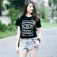 Tumblr Tee / T-shirt / Kaos Jack Daniels in Black