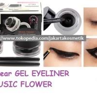 LONG WEAR GEL EYELINER / MUSIC FLOWER 24 H + WATER