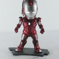Kids Logic Marvel Iron Man 3 Earphone Plugy LED Mini Figure Mark 33