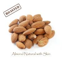 Almond Natural Roasted 450 gram