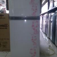 Sharp Kulkas Lemari ES Dua Pintu SJ195MD - Putih