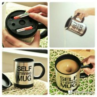 harga Self Stirring Coffee Cup Stainless Tokopedia.com