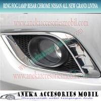 Ring lamp/Cover Fog Lamp Besar Chrome Nissan All New Grand Livina