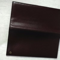 AIGNER original long wallet Dompet panjang dark brown leather
