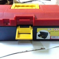 Tool Box Kens / Kotak Penyimpanan Barang + Bonus Gembok Kode