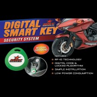 Alarm Motor Honda New Cbr 150r Facelift I-max Digital Smart Key