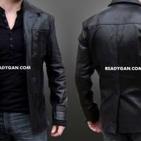 jaket kulit BIG BOS blazer jacket semi sintetis imitasi kulit