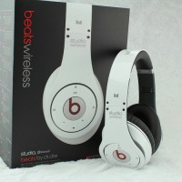 Monster Beats By Dr. Dre Studio Bluetooth Wireless Headphones (White)
