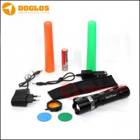 senter Flashlight Police SWAT include charger