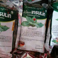 Teh Daun Insulin / Yakon Untuk Penderita Kencing Manis / Diabetes