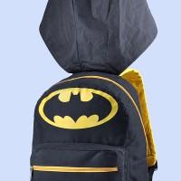 tas sekolah anak laki laki / tas anak motif batman bertopi gse 8420