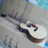 Gitar Akustik elektrik LED inlay LC4  inlay menyala jika di tekan