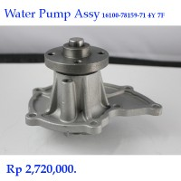 Water Pump Assy Toyota Forklift 4Y 7F