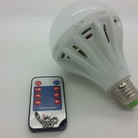 harga Lampu Led 20 Watt With Remote Control Jam ( Time Control ) Tokopedia.com