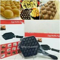 harga Cetakan Egg Waffle Pan / Hongkong Waffle Tokopedia.com