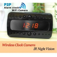 harga Kamera Spy Camera Jam Digital HD1080 Wifi/AP IP Network Spy Desk Clock Tokopedia.com