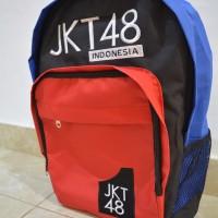 harga TAS JKT48 Merah Hitam Biru Tokopedia.com