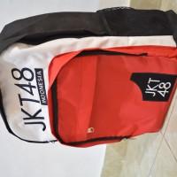 harga TAS JKT48 Merah Putih Hitam Tokopedia.com