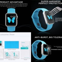 Antigores Kaca Nillkin 9H-Plus Tempered Glass Jam Apple Watch 38mm