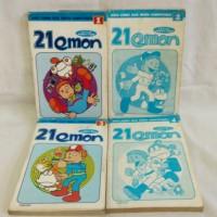 harga Komik Second ( Bekas ) 21 Emon 1 - 4 Tamat . Koleksi Pribadi . Langka . Doraemon 21emon . Fujiko F Fujio Manga Tokopedia.com
