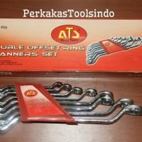 Kunci Ring Set 8Pcs (6-22mm) ATS