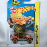 Hot Wheels Jeep CJ7 Treasure Hunt