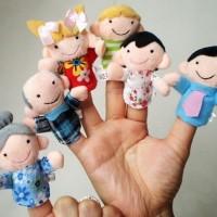 Jual Boneka Jari Family Lucu 1 Set Murah