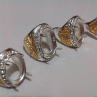 harga Cincin Emban Titanium Perak Warna Kombinasi Tokopedia.com