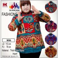 (XXL) Kemeja Batik Etnik Jumbo | Big | Plus Size I
