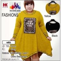 (6XL) Irreguler Dress Que Sera Fashion Jumbo | Big