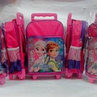 harga Tas Troli Anak Tk Sd Trolley Ransel Frozen Elsa Anna Olaf Murah Tokopedia.com